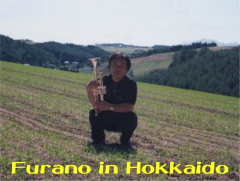 My name is KURATA MASAAKI who is the owner of this sight. This picture was taken at Biei in Hokkaido on summer in 1999.